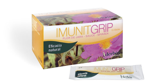 IMUNITGRIP- 15 sticks. 100 ml