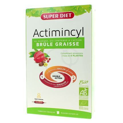 Actimincyl Bio. Fat Burner 20 blisters - Super Diet