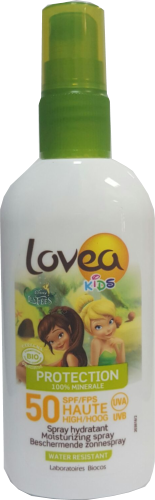 Spray protector solar KIDS SPF50 BIO